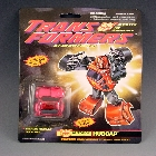 Transformers G2 - Carded - Hubcap - MOSC