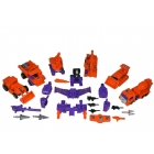 Transformers G2 - Devastator (orange) - Loose - Missing Bonecrusher's Gun