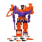 Transformers G2 - Orange Devastator - Loose - 100% Complete