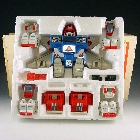 GoBots - Power Warrior Courageous - MIB - 100% Complete