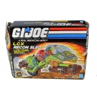 GI Joe - L.C.V. Recon Sled Low Crawl Vehicle - MIB - 100% Complete