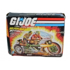 GI Joe - Silver Mirage Motorcycle - MISB