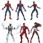Marvel - Spider Man Infinite Legends Series 1 - 6 inch - Set of 6 with BAF Hobgoblin