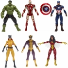 Marvel - Avengers Infinite Legends Series 2 - 6 inch - Set of 6 with BAF Thanos