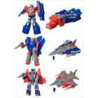 Kabaya - Assortment 8 - Candy Toys - Set of 3 - Star Convoy Buster Hydra