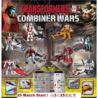 Generations - Combiner Wars 2015 - Exclusive Sticker Set for Menasor & Superion