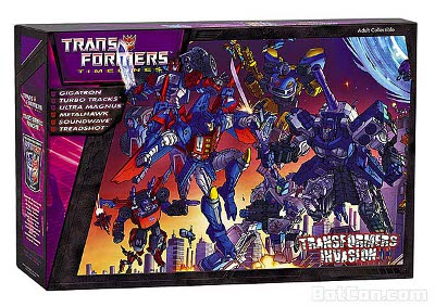 Botcon 2012 - Shattered Glass - Convention Boxed Set - MIB