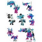 Kabaya - Assortment 9 - Candy Toys - Seacons Set of 6 - Piranacon