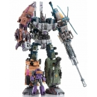 Warbotron - WB01 - Full Set of 5 Figures + X-Ray Gun Set