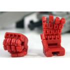 KFC - KP-10G Red Posable Hands for MP-12G G2 Sideswipe