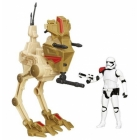 Star Wars Episode VII Desert Assault Walker with First Order Stormtrooper Officer