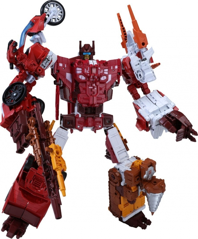 Transformers Unite Warriors - UW-08 - Computron
