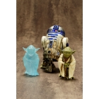 Kotobukiya - Star Wars Yoda & R2-D2 Dagobah Two Pack ARTFX+