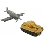 TFC TOYS - IRON ARMY - SET A - TIGER-1 & P-51 MUSTANG - Loose Complete