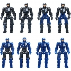 Diaclone Reboot - DA-04 Dia-Naughts Set of 8
