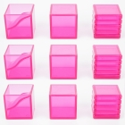 KFC - KP-15 E-Nergeon Cube - Pink Set of 9