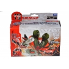 Japanese Transformers Prime - AM-13 - Decepticon Knockout - MIB