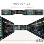 Extreme Sets - Pop Up Diorama - Sector 09
