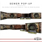Extreme Sets - Pop Up Diorama - Sewer
