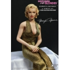 Star Ace - Gentlemen Prefer Blondes - Marilyn Monroe Gold Dress