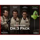 Ghostbusters -1:6 Scale Figure - Dr. 3 Pack