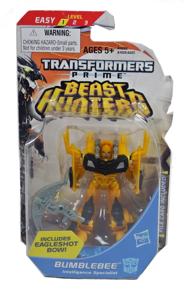 Beast Hunters - Transformers Prime - Legion Class Bumblebee - MOSC