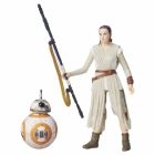 Star Wars Black Series 6'' - The Force Awakens - Rey (Jakku) and BB-8