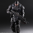 Play Arts Kai - Gears of War - Marcus Fenix