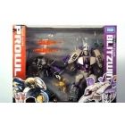 Japanese Transformers Animated - Prowl vs. Blitzwing