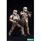 Kotobukiya - Star Wars Rogue One - Scarif Trooper Two Pack ArtFX+