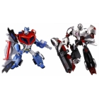 Japanese Transformers Animated - Optimus Prime vs. Megatron