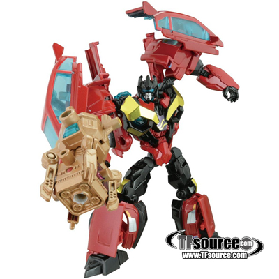 Japanese Transformers Prime - AM-30 - Rumble - MIB