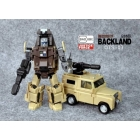 Badcube - Old Time Series - OTS-03 Backland - MIB