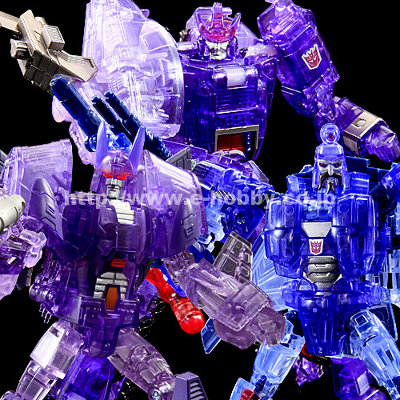 Transformers United Decepticon Three-Pack E-Hobby Exclusive - MISB