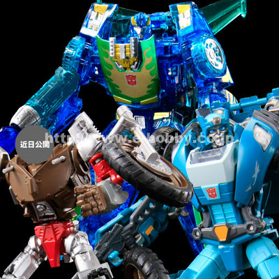 Transformers United Autobot Three-Pack E-Hobby Exclusive - MISB