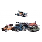 Warbotron - WB01 - Full Set of 5 Figures  - Loose