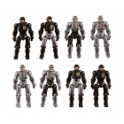 Diaclone Reboot - DA-04 Dia-Naughts Version 2 Set of 8