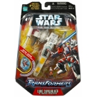 Star Wars Transformers - Luke Skywalker X-wing Fighter - MOSC