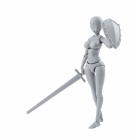S.H.Figuarts - Body-Chan - Yabuki Kentaro - DX Set - Gray Color Ver.