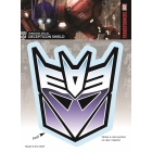 Transformers - Decepticon Logo - Full Color Sticker