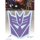 Transformers - Decepticon Logo - Purple Sticker