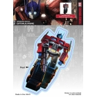 Transformers - Optimus Prime - Car Window Decal