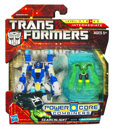 Transformers 2010 - Power Core Combiner 2-Pack - Searchlight w/ Backwind - MOC