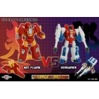 TFC EX-004 - Targetroids - Hot Flame vs. Screamer - MIB