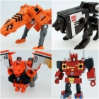 Transfomers Masterpiece - MP-15E/16E - Cassettebot vs. Cassettron Exclusive