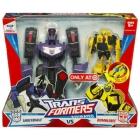 Transformers Animated - Shockwave VS Bumblebee - MIB