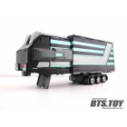 BTS-01B Classics Prime Trailer Black and Silver - Loose Complete