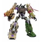 Transformers 2012 - SDCC Bruticus W/Boosticus Upgrade Kit - Loose - 100% Complete