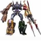Transformers Generations Japan - Fall of Cybertron - Bruticus Set of 5 - Loose 100% Complete