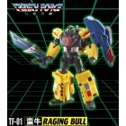 TFC Toys - Trinity Force - TF-01 Raging Bull - MIB